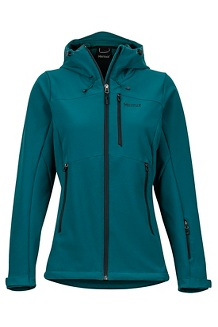 Women's Moblis Jacket, Deep Teal/Black, medium