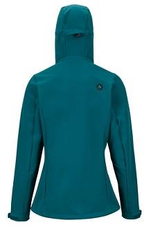 Women's Moblis Jacket, Deep Teal/Black, medium
