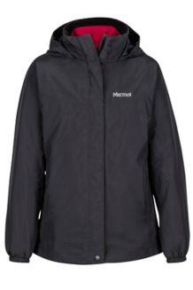 Girl's Northshore Jacket, True Black, medium