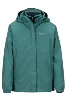 Girls' Northshore Jacket, Mallard Green, medium