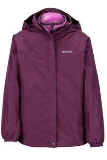 Girl's Northshore Jacket, Dark Purple, medium