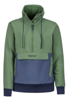 Women's Lynx Insulated Anorak, Vine Green/Storm, medium