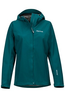Women's Minimalist Jacket, Deep Teal, medium
