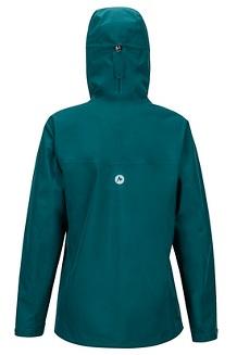 Women's Minimalist Jacket, Deep Teal, medium
