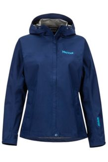 Women's Minimalist Waterproof Jacket, Arctic Navy, medium