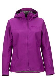 Women's Minimalist Waterproof Jacket, Grape, medium