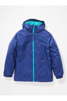Kids' PreCip Eco Component 3-in-1 Jacket, Royal Night/Enamel Blue, medium
