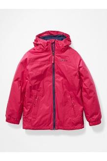 Kids' PreCip Eco Component 3-in-1 Jacket, Very Berry/Arctic Navy, medium