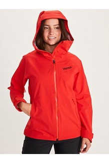 Women's EVODry Clouds Rest Jacket, Victory Red, medium