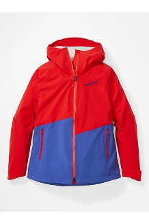 Women's EVODry Clouds Rest Jacket, Victory Red/Royal Night, medium