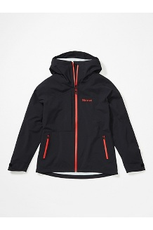 Women's EVODry Torreys Jacket, Black, medium