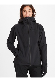 Women's EVODry Torreys Jacket, Black/Black, medium