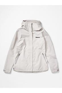 Women's EVODry Bross Jacket, Platinum, medium