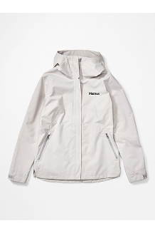 Women's EVODry Bross Jacket, Platinum, medium