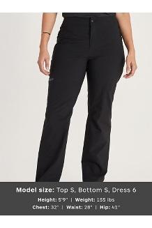 Women's EVODry Torreys Pants, Black, medium