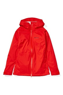 Women's PreCip Stretch Jacket, Victory Red, medium