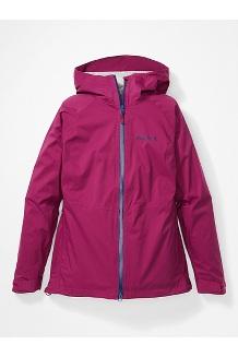 Women's PreCip Stretch Jacket, Wild Rose, medium