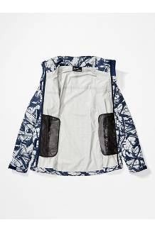 Women's PreCip Eco Print Jacket, Racing Print, medium
