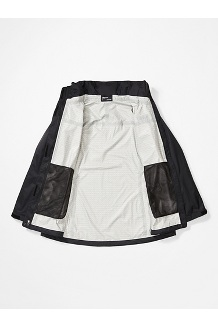 Women's PreCip Eco Jacket Plus, Black, medium