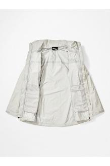 Women's PreCip Eco Jacket Plus, Platinum, medium