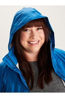 Women's PreCip Eco Jacket Plus, Classic Blue, medium