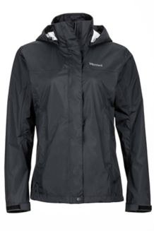 Wm's PreCip Jacket, Black, medium