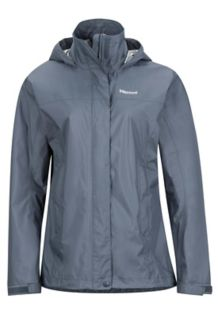 Women's PreCip Jacket, Steel Onyx, medium