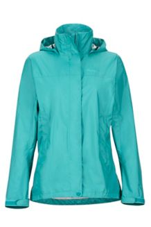 Wm's PreCip Jacket, Patina Green, medium