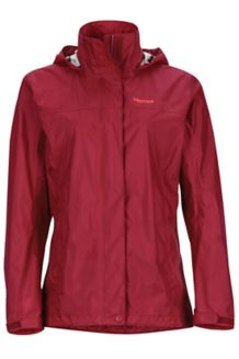 Wm's PreCip Jacket, Sienna Red, medium