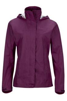 Wm's PreCip Jacket, Deep Plum, medium