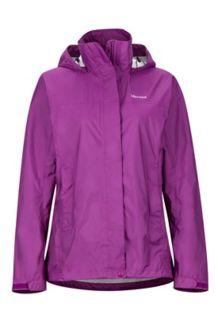 Wm's PreCip Jacket, Grape, medium