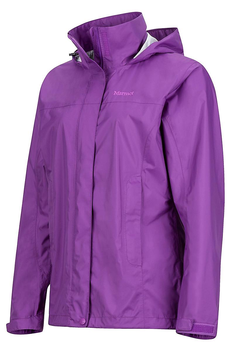 Wm's PreCip Jacket, Bright Violet, large