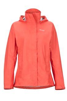 Wm's PreCip Jacket, Living Coral, medium