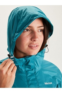 Women's PreCip Eco Anorak, Royal Night/Enamel Blue, medium