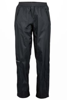 Wm's PreCip Pant Long, Black, medium