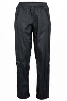 Wm's PreCip Pant Long, Black, medium