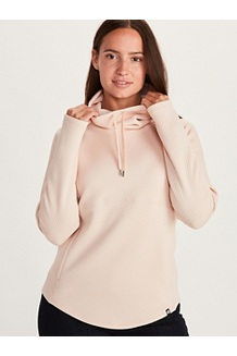 Women's Annie Long-Sleeve Pullover, Mandarin Mist, medium