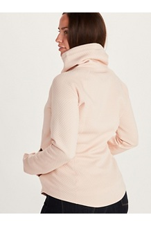 Women's Annie Long-Sleeve Pullover, Arctic Navy, medium