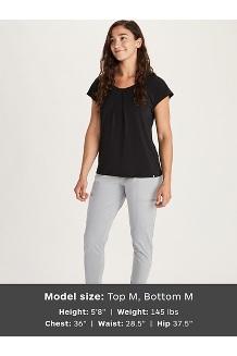 Women's Theia Short-Sleeve Shirt, Hazy Afternoon, medium