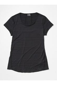 Women's Aura Short-Sleeve Shirt, Black, medium