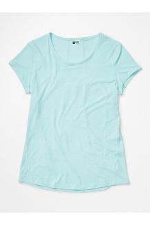 Women's Aura Short-Sleeve Shirt, Corydalis Blue, medium