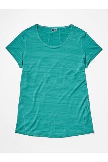 Women's Aura Short-Sleeve Shirt, Deep Jungle, medium