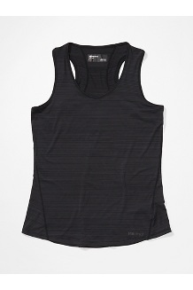 Women's Aura Tank Top, Black, medium