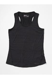 Women's Aura Tank Top, Black, medium