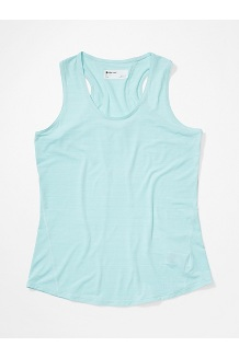 Women's Aura Tank Top, Corydalis Blue, medium