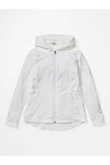 Women's Tomales Point Hoody, White, medium