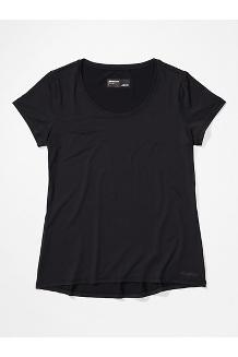 Women's All Around Short-Sleeve T-Shirt, Black, medium