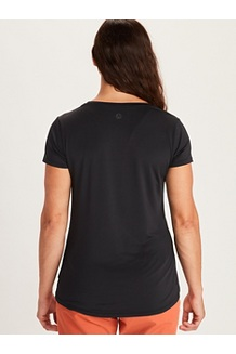 Women's All Around Short-Sleeve T-Shirt, Black, medium