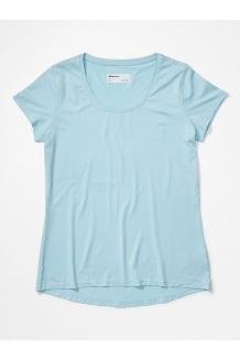 Women's All Around Short-Sleeve T-Shirt, Corydalis Blue, medium