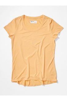 Women's All Around Short-Sleeve T-Shirt, Sweet Apricot, medium